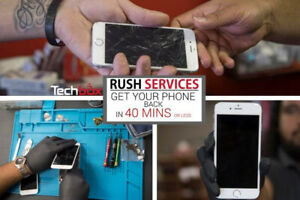 IPHONE REPAIR AND SERVICES - 40 MIN OR LESS** - TECHBOX