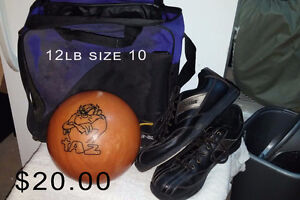 bowling ball-shoes-bag Moving sale lots of items New and Used