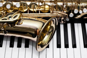 Duo musiciens sax/piano pour mariages