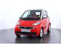 2013 SMART FORTWO CABRIO PASSION MHD CONVERTIBLE PETROL