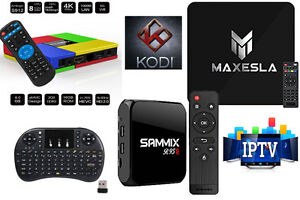 FREE SHIPPING Android Smart TV Ready with Kodi 17.3 + IPTV