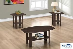 Brand NEW Cappuccino 3-Piece Table set! Call 306-343-2155!