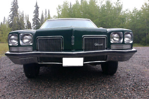 Big block 455 Rocket 1972 Oldsmobile Delta 88