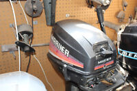 8 HP MARINER GOOD RUNNING NEW IMPELLER TUNE UP EX.AND MORE!!