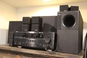 Yamaha Receiver with Bose Speakers