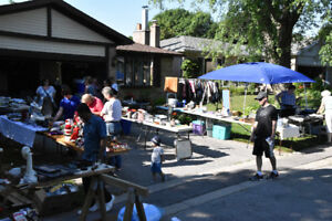 Big, Fat, Spring Garage Sale: June 9, 43 Elkwood, Scarborough