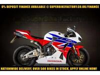 2013 13 HONDA CBR600RR 600CC 0% DEPOSIT FINANCE AVAILABLE