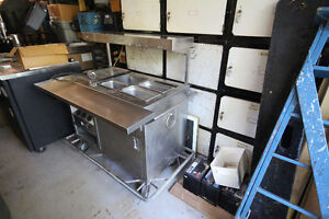 INDUSTRIAL 3 STATION STEAM TABLE NEW PRICE