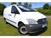 2011 Mercedes benz Vito 113CDI Van LONG LWB 5 door Van