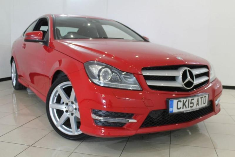 2015 15 MERCEDES-BENZ C CLASS 1.6 C180 AMG SPORT EDITION 2DR AUTOMATIC 154 BHP