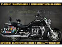 2012 12 TRIUMPH ROCKET 111 TOURING 2300CC 0% DEPOSIT FINANCE AVAILABLE