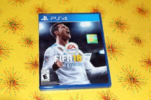 jeux Fifa 2018 pour ps4