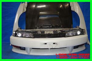 JDM Nissan 240sx Silvia S14 Kouki Bumper Headlights Fenders Hood