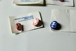 BUTTONS Lots baby projects I Love You, Boy/Girl Knitting vtg. Kingston Kingston Area image 8
