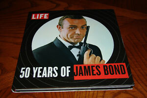 James Bond Book 007 Life 50 Years of James Bond Hard Cover