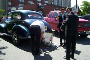 RENT A REALLY NEAT VINTAGE RIDE FOR YOUR SPECIAL DAY London Ontario image 4