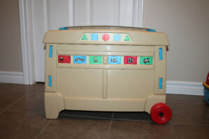 Step 2 toybox and toys