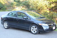 2006 Honda Civic black Sedan