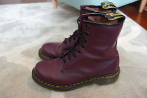 *Mint* Doc Martens 1460 Smooth Purple Boot - It Retails for $180
