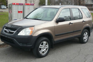 2003 Honda CR-V Automatic, Demarreur Distance, A/C Fonctionne