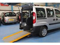 Fiat Doblo 1.3 Diesel Wheelchair accessible car mobility vehicle disabled van