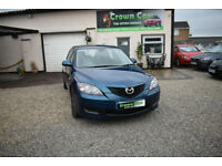 Mazda Mazda3 1.6 TS 5 DOOR BLUE 2007 MODEL