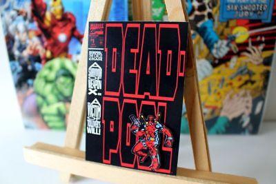 #1 cover Retro Marvel vintage fridge locker magnet (Deadpool-comic 1)
