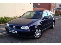 2002 VW Golf 1.9 Gt Tdi 130 6 Speed, Full History 2 Keys Mot 12 Month, I Had The Car Last 8 Years