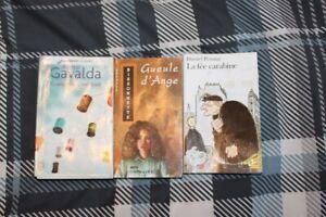 Roman (livre) Gueule d'Ange ($7) et la Fée Carabine ($8)