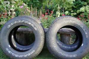 For Sale 4 Goodyear Wrangler tires M+S P 265/65 R 18-