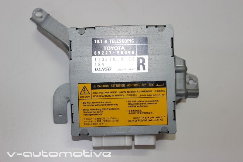LEXUS LS 430 / TILT & TELESCOPIC CONTROL UNIT 89227-50090