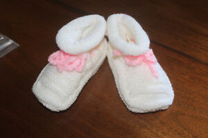 New Handmade Baby Bootees