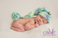 Newborn and Maternity Photography $200