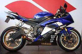2008 58 YAMAHA YZF R6 599CC BLUE