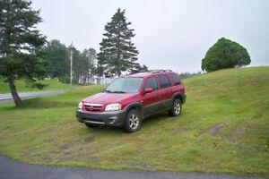 2006 Mazda Tribute SUV,  V6