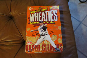 """New"" Maple Frosted Wheaties - Roger Clemens (Toronto Blue Jays)"