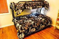 Bunk Bed, Black Metal!