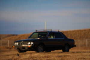 Help me sell my 1985 BMW 528E manual