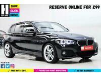 2017 BMW 1 Series 2.0 118d M Sport (s/s) 5dr Hatchback Diesel Manual