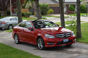 2013 Red Mercedes C250 Coupe for Sale or Trade!