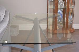 Studio Tempered Glass Desk