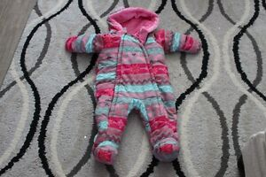 6-12 Month baby girl snow suit