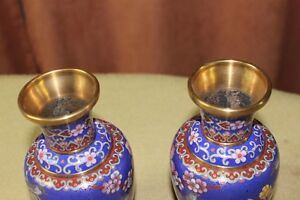 Chinese Cloisonne Vases Pair Kingston Kingston Area image 3
