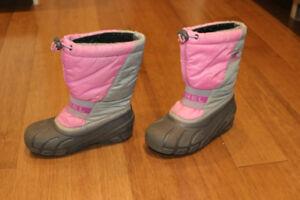 Girls Sorel Boots Size 1