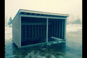 Custom built sheds and shelters