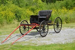 Horse carriage / Mclaughlin Doctors buggy – Cart fit med horse
