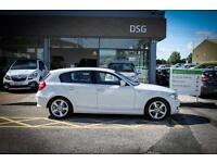 2010 10 BMW 1 SERIES 118d Sport 5dr in White