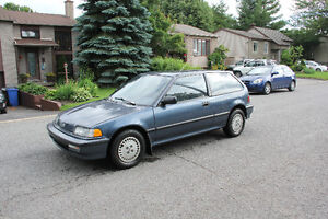 1991 Honda Civic DX Bicorps