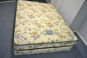 DOUBLE SIZE REGAL MATTRESS WITH BOXSPRING