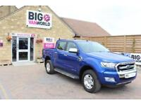 2016 FORD RANGER TDCI 150 LIMITED 4X4 DOUBLE CAB PICK UP DIESEL